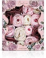 Parfumuri și produse cosmetice Set de trandafiri de săpun - Baylis & Harding Boudoire Velvet Rose & Cashmere Soap Petal Set