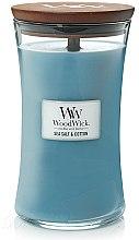Parfumuri și produse cosmetice Lumânare aromatică - WoodWick Hourglass Candle Sea Salt & Cotton