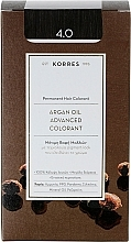 Parfumuri și produse cosmetice Vopsea de păr - Korres Argan Oil Hair Colorant