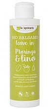 "Parfumuri și produse cosmetice Balsam de păr ""Moringa & Lino"" - La Saponaria Leave-in Conditioner Moringa & Lino"
