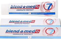 Parfumuri și produse cosmetice Pastă de dinți - Blend-A-Med Complete Protect 7 Original