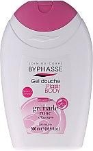 "Parfumuri și produse cosmetice Gel de duș ""Rodie"" - Byphasse Plaisir Shower Gel Pink Pomegranate"