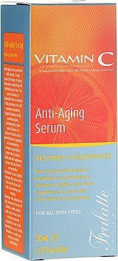Ser facial cu Vitamina C - Frulatte Vitamin C Anti-Aging Face Serum
