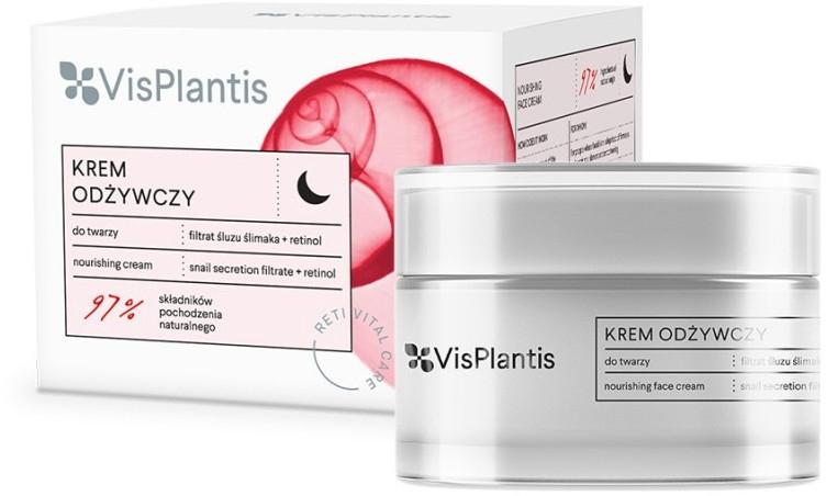 Cremă de noapte pentru față - Vis Plantis Reti Vital Care Anti-Wrinkle Nourishing Night Cream
