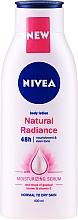 Parfumuri și produse cosmetice Loțiune de corp - Nivea Natural Radiance Body Lotion