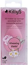 Parfumuri și produse cosmetice Burete de machiaj cu extract de mușețel - KillyS Blooming Pastel 3D Make-Up Sponge