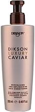 Parfumuri și produse cosmetice Balsam revitalizant de păr - Dikson Luxury Caviar Revitalizing and Replenishing Conditioner