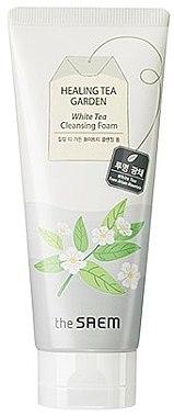 Spumă de curățare pentru față - The Saem Healing Tea Garden White Tea Cleansing Foam — Imagine N1
