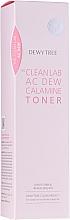Parfumuri și produse cosmetice Toner calmant cu calamina pentru față - Dewytree The Clean Lab AC Dew Calamine Toner