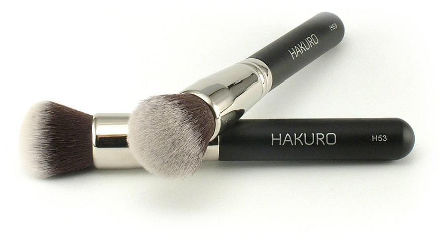 """Pensulă pentru fond de ten """"H53"""" - Hakuro"""