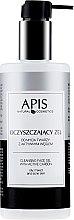 Parfumuri și produse cosmetice Gel cu cărbune de curățare pentru față - APIS Professional Cleansing Gel