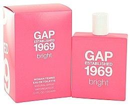 Parfumuri și produse cosmetice Gap Established 1969 Bright - Apă de toaletă