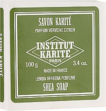 Parfumuri și produse cosmetice Săpun - Institut Karite Lemon Verbena Shea Soap