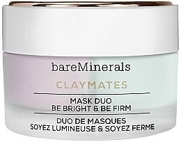 Parfumuri și produse cosmetice Mască dublă pentru față - Bare Escentuals Bare Minerals Claymates Be Bright & Be Firm Mask Duo