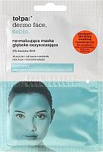 Parfumuri și produse cosmetice Mască pentru curățare profundă - Tolpa Dermo Face Sebio Normalizing Deep Cleansing Mask