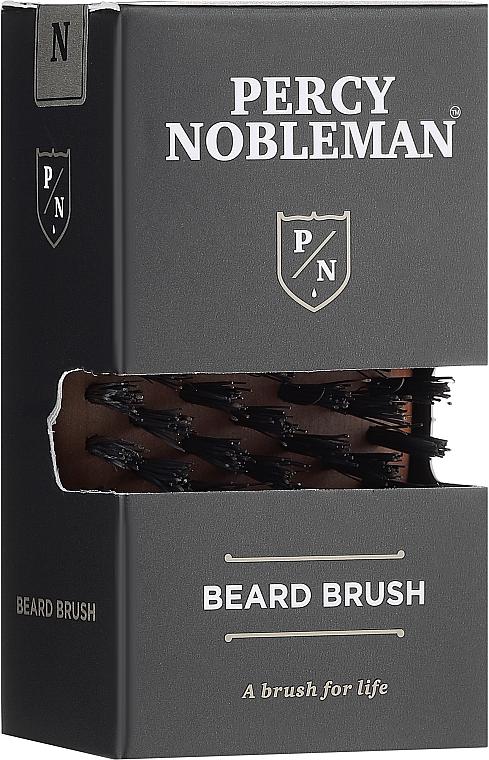Perie pentru barbă - Percy Nobleman Beard Brush — Imagine N1