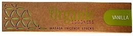 Parfumuri și produse cosmetice Bețișoare aromatice - Song Of India Organic Goodness Vanilla