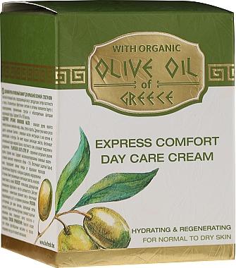 Cremă de față - BioFresh Olive Oil Of Greece Express Comfort Day Care Cream — Imagine N3