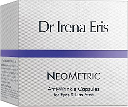 Parfumuri și produse cosmetice Ser de noapte capsule pentru zona din jurul ochilor și buzelor - Dr Irena Eris Anti-Wrinkle Capsules for Eyes and Lips Area