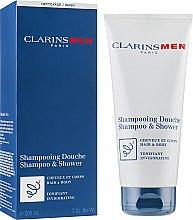 Parfumuri și produse cosmetice Шампунь для волос и тела, тонизирующий - Clarins Men Shampoo & Shower