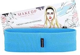 """Parfumuri și produse cosmetice Bandă elastică pentru păr, """"Be Beauty"""", albastră - MakeUp"""