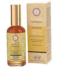 """Parfumuri și produse cosmetice Ulei de păr """"Putere și creștere"""" - Khadi Hair Oil"""