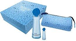 Parfumuri și produse cosmetice Tous Kids Boy - Set (edt/100ml + edt/mini/4ml + case)