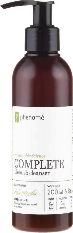 Gel de curățare pentru față - Phenome Complete Blemish Cleanser — Imagine N1