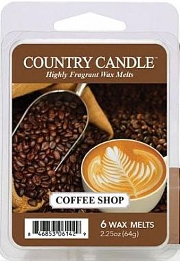 Ceară pentru lampă aromaterapie - Country Candle Coffee Shop Wax Melts — Imagine N1