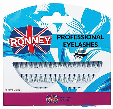 Set Gene false individuale - Ronney Professional Eyelashes 00038
