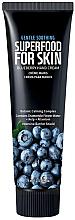Parfumuri și produse cosmetice Cremă cu afine pentru mâini și unghii - Superfood For Skin Hand Cream Blueberry