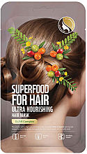 Parfumuri și produse cosmetice Mască ultra nutritivă cu extract de măsline pentru păr - Superfood For Skin Hair Mask With Olive Cloth