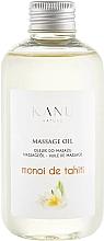 "Parfumuri și produse cosmetice Ulei de masaj ""Monoi de Tahiti"" - Kanu Nature Monoi de Tahiti Massage Oil"