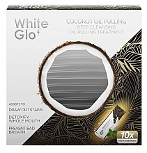 Parfumuri și produse cosmetice Agent de clătire pentru cavitatea bucală - White Glo Coconut Oil Pulling