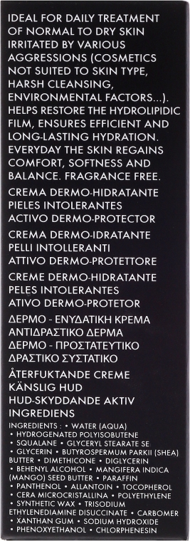 Cremă hidratantă potrivită pentru pielea normală și uscată - Academie Derm Acte Dermo-hydratante Cream Intolerant Skin — Imagine N3
