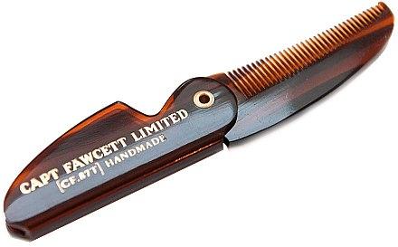 Set - Captain Fawcett Sandalwood (moust/wax/15ml + moustache comb) — Imagine N6