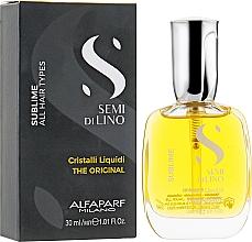 Parfumuri și produse cosmetice Cristale lichide pentru păr - Alfaparf Semi di Lino Sublime Cristalli Liquidi