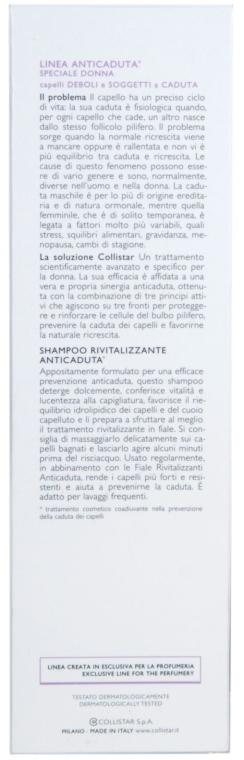 Șampon împotriva căderii părului subțire - Collistar Anti-Hair Loss Revitalizing Shampoo with Trichogen — Imagine N3