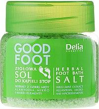 Parfumuri și produse cosmetice Sare de baie pentru picioare - Delia Cosmetics Good Foot Herbal Foot Bath Salt