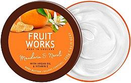 """Parfumuri și produse cosmetice Ulei de corp """"Mandarin și neroli"""" - Grace Cole Fruit Works Body Butter Mandarin & Neroli"""