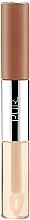 Parfumuri și produse cosmetice Ruj 4 în 1 de buze - Pur 4-in-1 Lip Duo Dual-Ended Matte Lipstick & Lip Oil