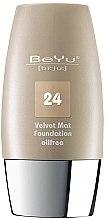 Parfumuri și produse cosmetice Fond de ten cu efect matifiant - BeYu Velvet Mat Foundation