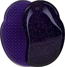 Perie de păr - Tangle Teezer The Original Purple Glitter Hair Brush — Imagine N1