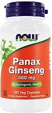 "Parfumuri și produse cosmetice Capsule ""Ginseng"", 500 mg - Now Foods Panax Ginseng"