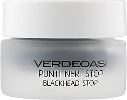 "Parfumuri și produse cosmetice Scrub-exfoliant ""Stop punctelor negre"" - Verdeoasi Punti Neri Stop-Blackhead Stop"