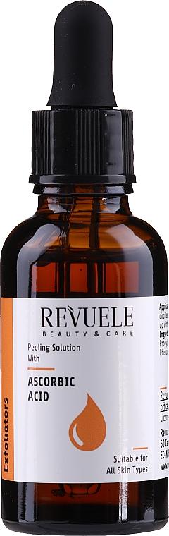 Peeling cu acid ascorbic - Revuele Peeling Solution Ascorbic Acid Exfoliator