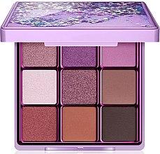 Parfumuri și produse cosmetice Paletă farduri de ochi, 9 nuanțe - I Heart Revolution Glitter Eyeshadow