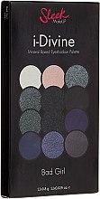 Parfumuri și produse cosmetice Paletă de farduri de ochi - Sleek MakeUP i-Divine Mineral Based Eyeshadow Palette Bad Girl