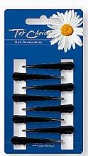 Parfumuri și produse cosmetice Agrafe de păr, 24931, negre - Top Choice