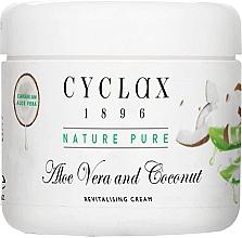 Parfumuri și produse cosmetice Крем для тела с канарским алоэ вера и кокосом - Cyclax Nature Pure Aloe Vera and Coconut Revitalising Cream